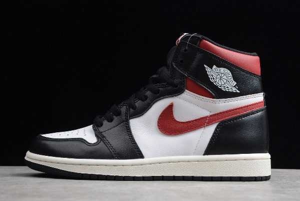 Air Jordan 1 Retro High OG ' ym Red' Black White 555088-061
