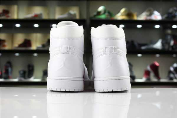 New Air Jordan 1 High White/Half Heart Women' s and Men' s Size For Sale