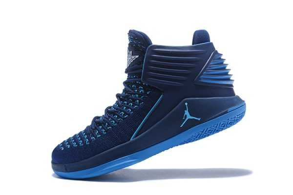 New Air Jordan 32 Midnight Navy/Blue Men' s Basketball Shoes