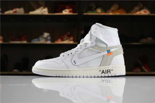 "Off-White x Air Jordan 1 High NRG ""White"" AQ0818-100 For Sale"