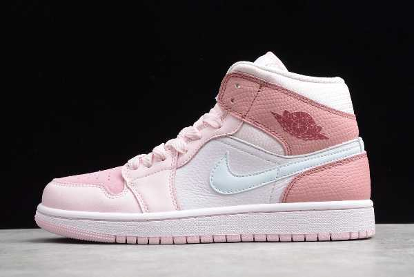 CW5379-600 New Air Jordan 1 Mid Digital Pink 2020 For Sale