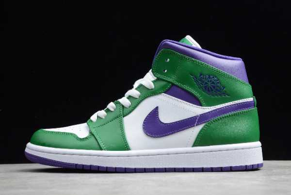"554724-300 New Air Jordan 1 Mid ""Hulk"" 2020 For Sale"