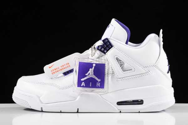 2020 New Air Jordan 4 Retro Metallic Pack Court Purple CT8527-115 For Sale