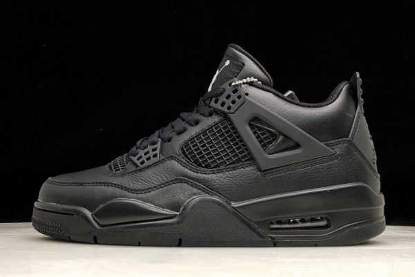 "2019 Air Jordan 4 Retro ""Black Cat"" All Black 308497-002"