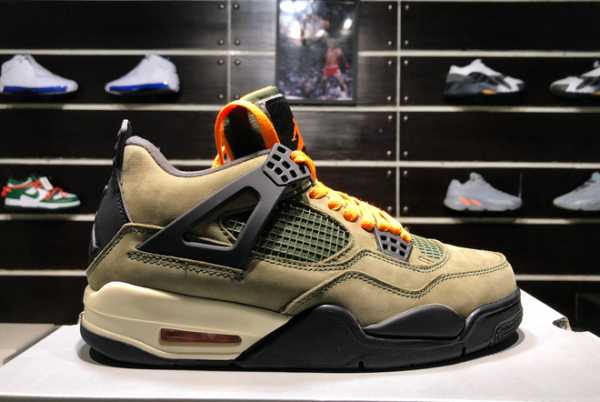 New Air Jordan 4 x Undefeated Travis Scott TS4 AJ4 For Sale