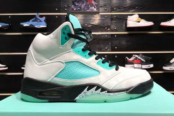 2020 New Air Jordan 5 Island Green AJ5 CN2932-100 For Sale