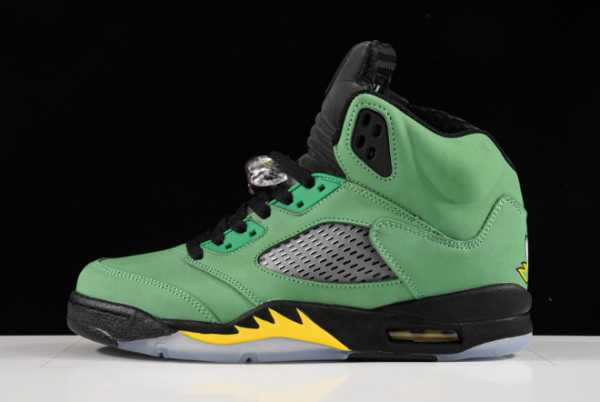 2020 New CK6631-307 Air Jordan 5 Oregon For Sale