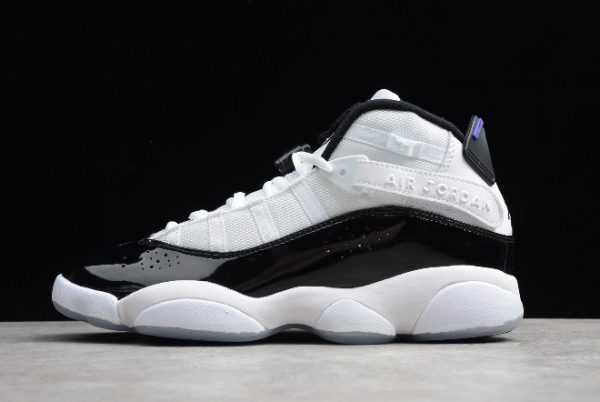 Buy Air Jordan 6 Rings ' oncord' White Black 322992-104