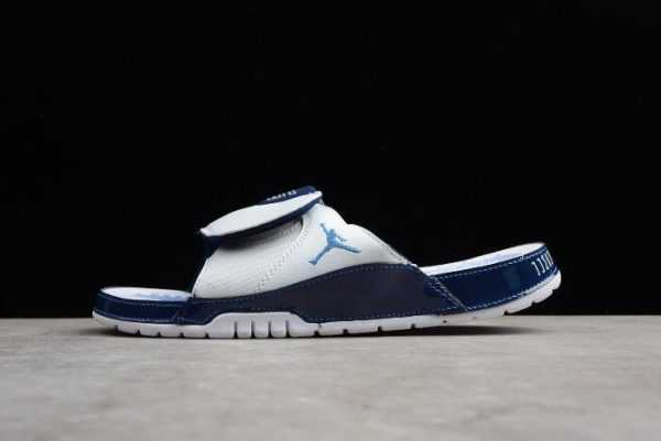 Nike Air Jordan Hydro 11 Slides Retro White/University Blue Sandals