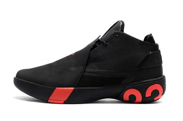 New Jordan Ultra Fly 3 Black/Gym Red On Sale