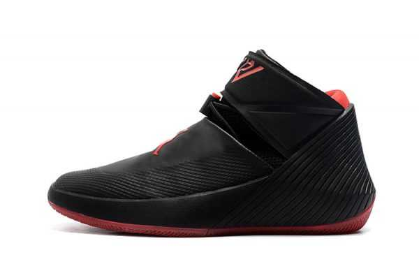 "New Jordan Why Not Zer0.1 ""Bred"" Black/Gym Red Basketball Shoes AA2510-007"