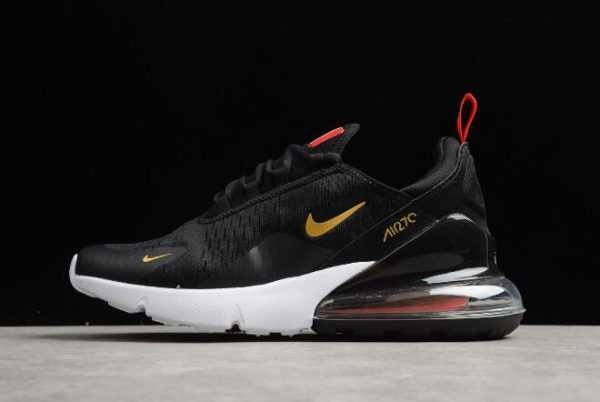 Nike Air Max 270 France Become World Cup 2018 Champions Black Gold For Sale