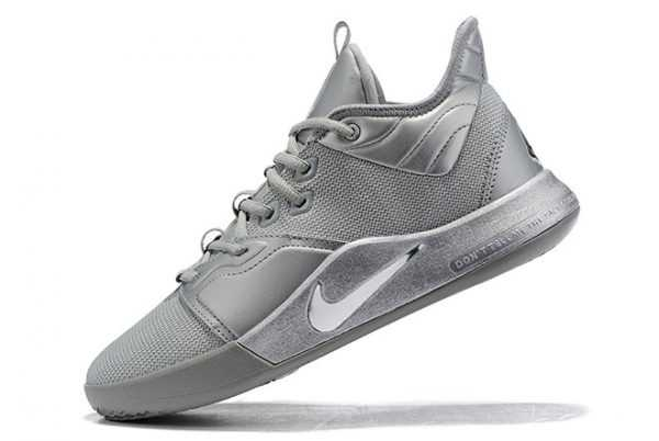 New Nike PG 3 Metallic Silver On Sale