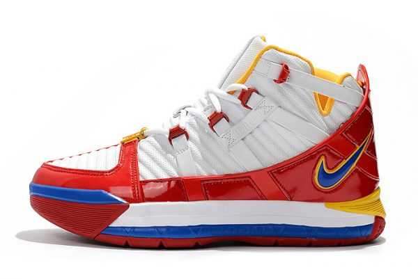 "Nike Zoom LeBron 3 SB ""SuperBron"" White/Varsity Red AO2434-100"