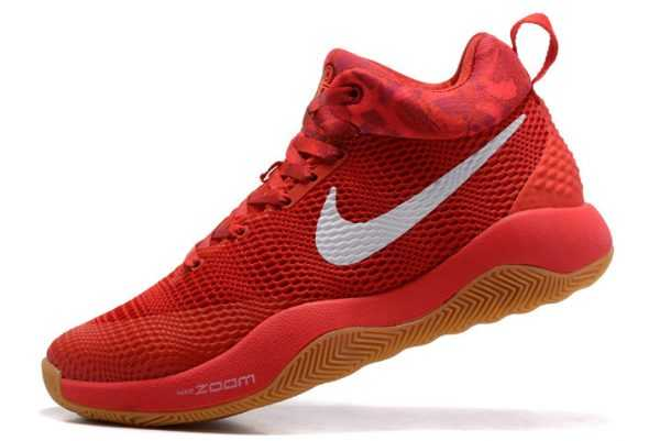 Buy Nike Hyperrev 2017 Red/White-Gum Basketball Shoes