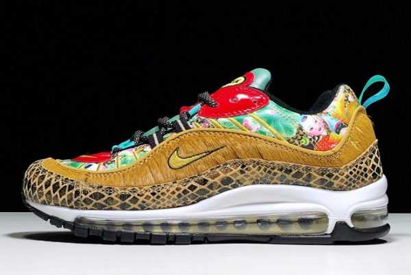 Nike Air Max 98 'Chinese New Year' 2019 For Sale BV6649-708