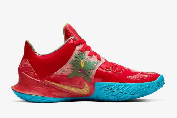 SpongeBob x Nike Kyrie Low 2 Mr. Krabs On Sale CJ6953-600