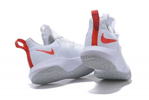 Nike Zoom Shift 2 EP White/Red-Pure Platinum Free Shipping