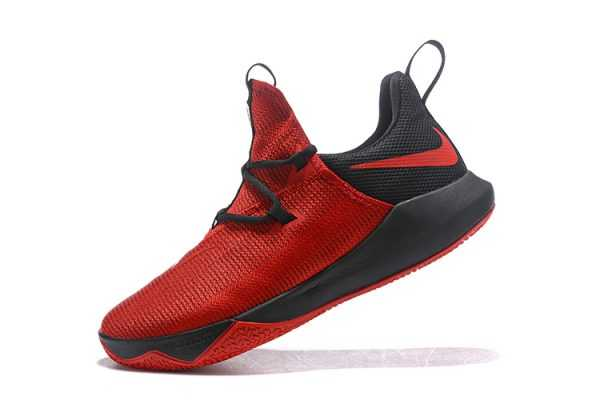 Men's Nike Zoom Shift 2 EP October Red/Black Basketball Shoes
