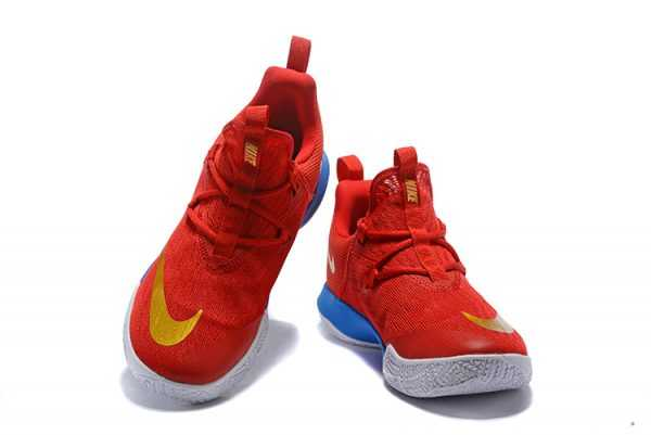 Nike Zoom Shift EP University Red/Metallic Gold-Blue Mens Basketball Shoes
