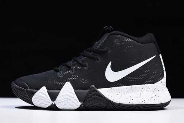 Men's Nike Kyrie 4 EP Black White Basketball Shoes
