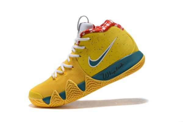 "Nike Kyrie 4 ""Yellow Lobster"" PE Men's Basketball Shoes"
