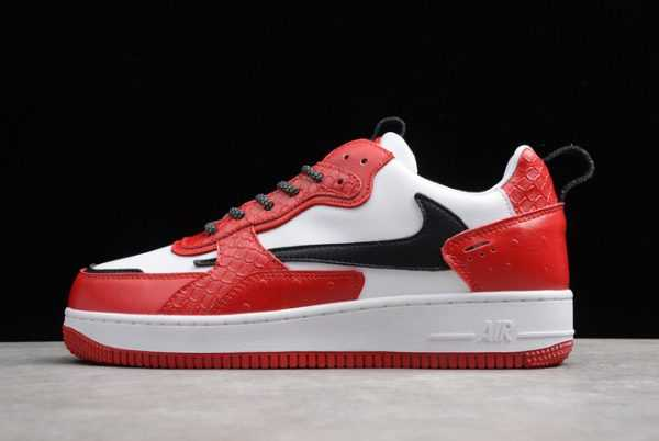 Nike Air Force 1 AC White/Red-Black Sneakers To Buy