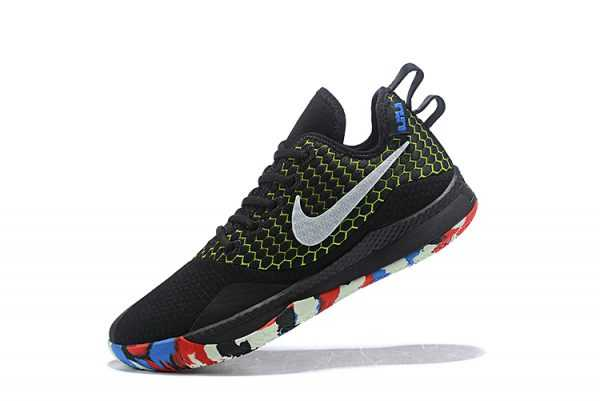 Nike LeBron Witness 3 Black/Multi-Color On Sale