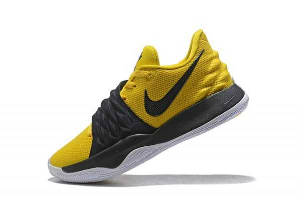 2018 Nike Kyrie 4 Low Amarillo/Black-White AO8979-700 For Sale