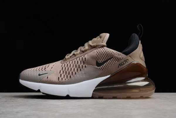 "Men's Nike Air Max 270 ""Tan"" Sepia Stone-Black-Summit White AH8050-200"
