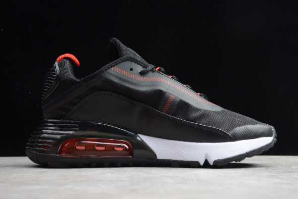 CT7698-005 Nike Air Max 2090 Black/Red-White 2020 For Sale