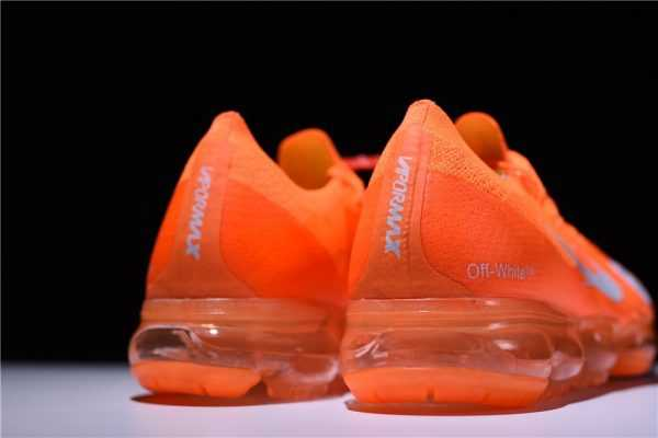 New Off-White x Nike Mercurial VaporMax in Orange For Sale