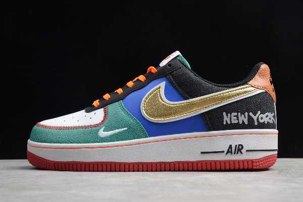 CT3610-100 Mens and WMNS Nike Air Force 1 '07 LV8 Low NYC City of Athletes For Sale