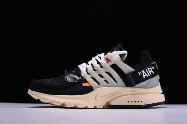 "New Off-White x Nike Air Presto x Virgil Abloh ""The Ten"" Black/Muslin AA3830-001"
