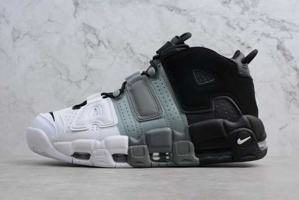 "Nike Air More Uptempo ""Tri-Color"" Black/Cool-Grey-White 921948-002"
