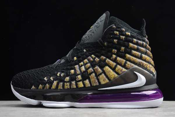 BQ3178-004 Mens Nike LeBron XVII EP 17 James LBJ Lakers For Sale