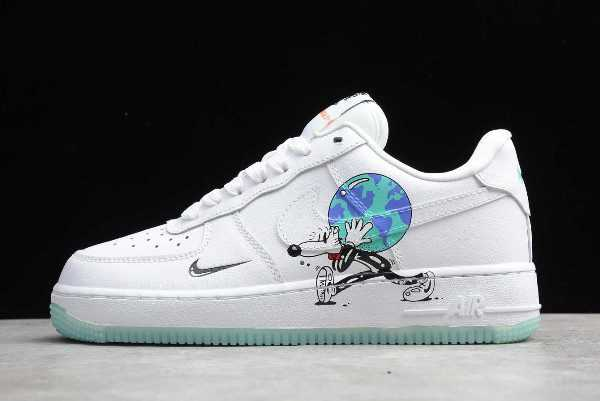 "Nike Air Force 1 Low Flyleather Steve Harrington ""Earth Day"" For Sale CI5545-100"
