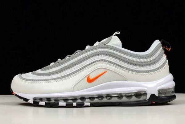 Buy Nike Air Max 97 White/Cone-Metallic Silver BQ4567-100
