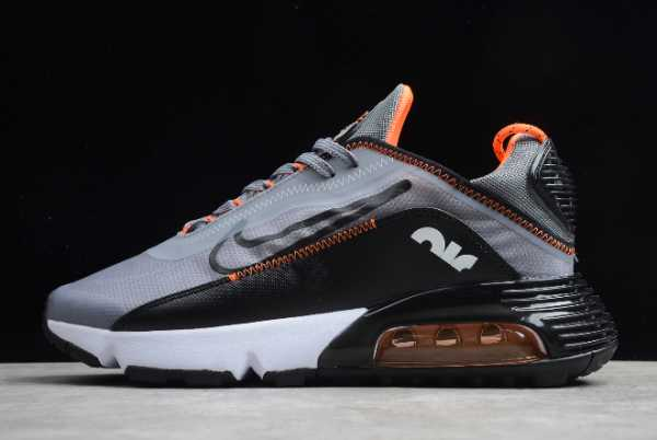 CT7698-012 Nike Air Max 2090 Silver Grey/Black-Orange 2020 For Sale