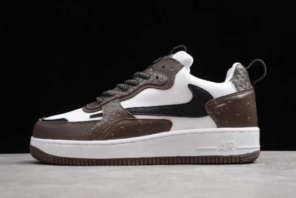 Nike Air Force 1 AC White Brown-Black New Sale