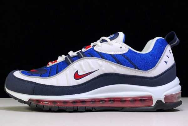 Nike Air Max 98 Gundam Red/White-Blue On Sale