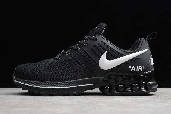 524977-500 Mens Nike Air Max 2019 Footwear Black White For Sale