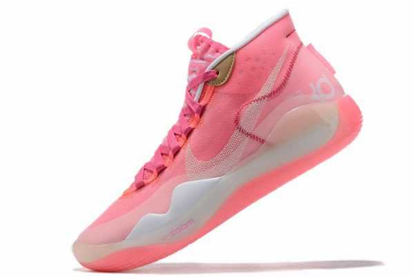 Mens Nike KD 12 Pink White On Sale