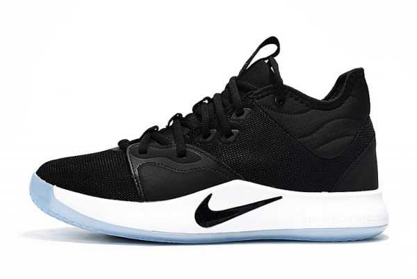 New Nike PG 3 Black/White On Sale