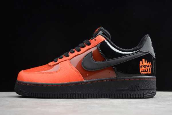 CT1251-006 Nike Air Force 1 '07 LE Shibuya Halloween Men's and Women's Size For Sale