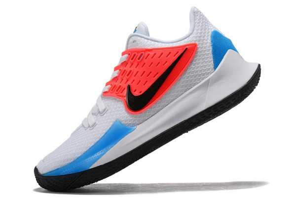 New Nike Kyrie Low 2 Blue Hero White Black For Sale AV6337-100