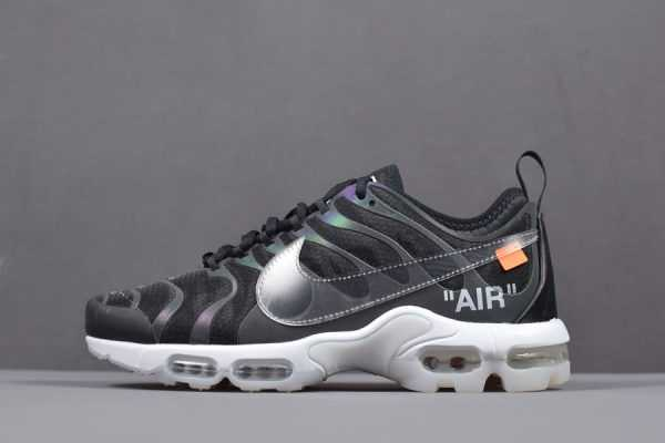 "Off-White x Nike Air Max Plus TN Ultra ""Iridescent"" Men's Size AA3827-001"