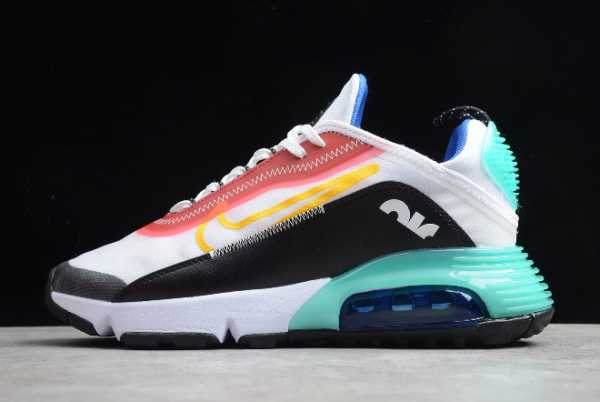 CT7698-010 Nike Air Max 2090 White/Red/Black/Treasure Blue Powder 2020 For Sale