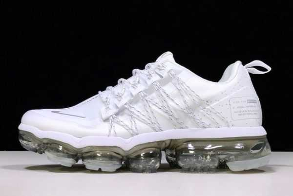 Nike Air VaporMax Run Utility White Reflect Silver For Sale AQ8811-100