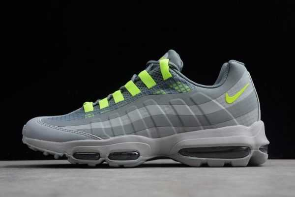 Nike Air Max 95 Ultra SE Wolf Grey/Volt-Cool Grey Sale Mens